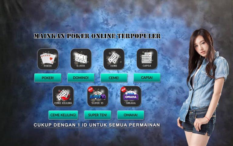Mainkan Poker Online Terpopuler